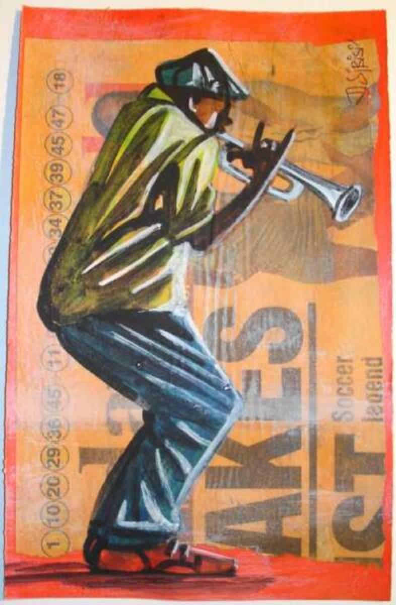 Trumpet Player...