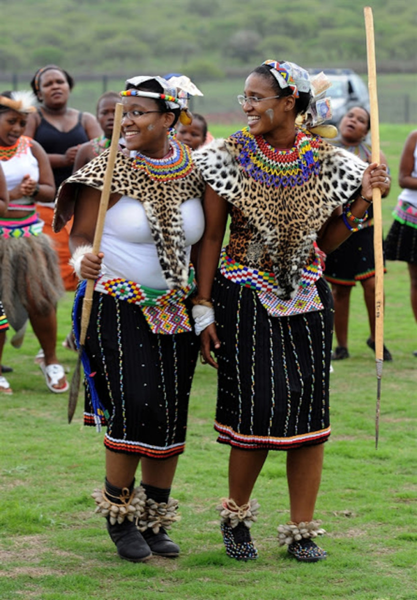 Two Zulu Princesses