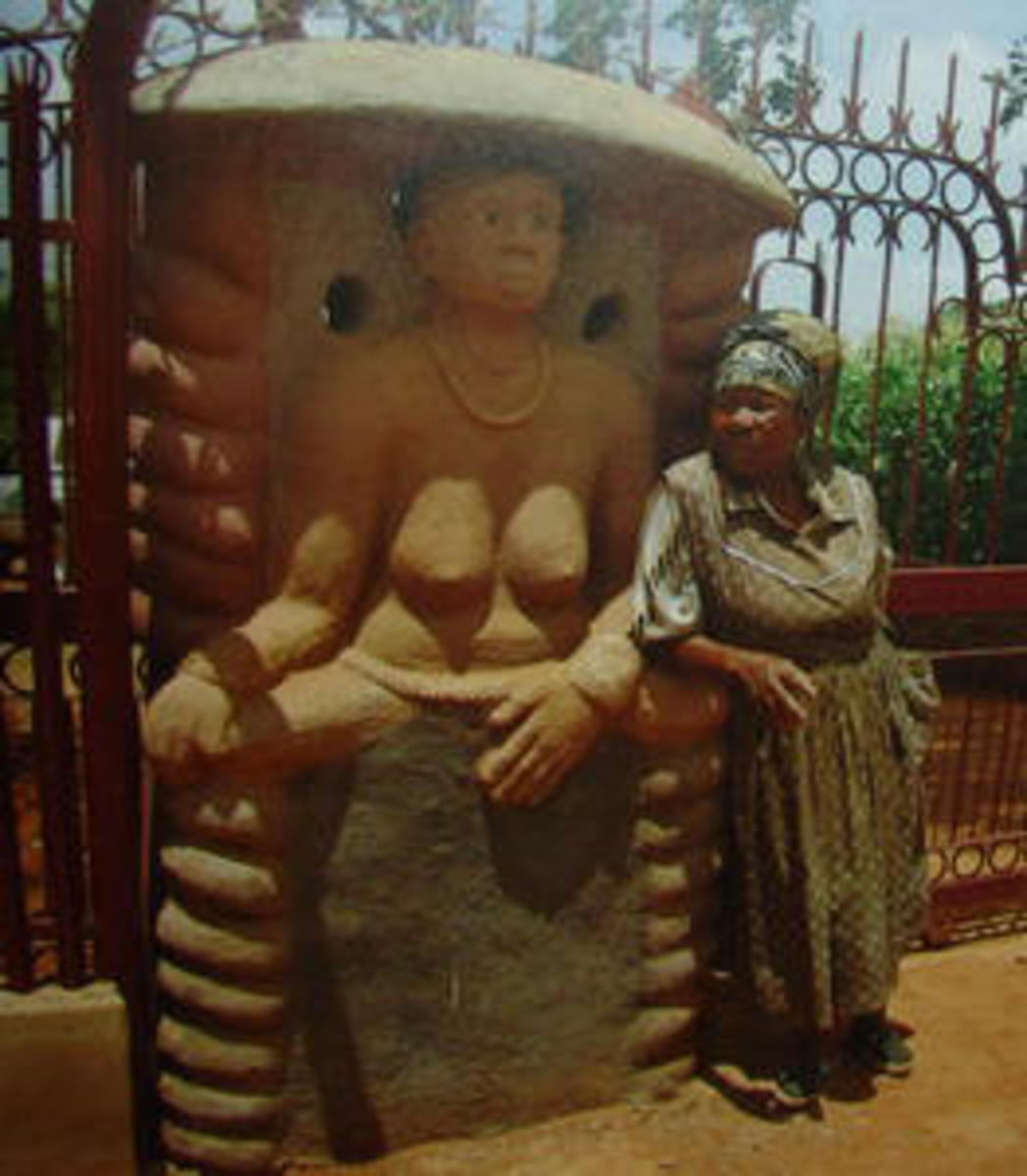 Renowned Venda Artist Noria Mabasa was born in Xigalo village in 1938