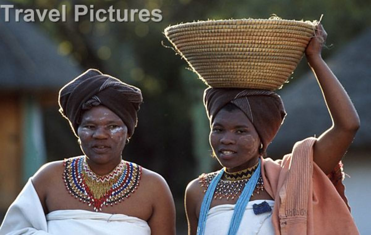 Xhosa Women In Their Cultural Element