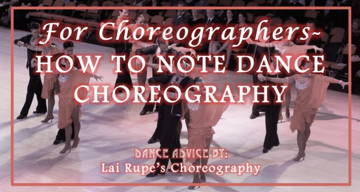 HOW TO CREATE DANCE FORMATIONS