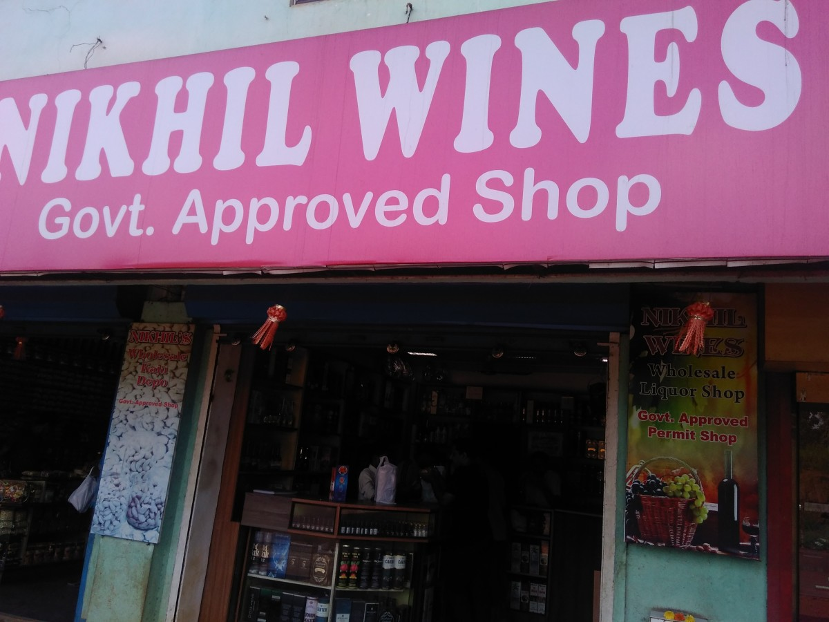 A Wine Shop. Liquors are cheap here. Collect some Wine and Feny as a souvenir.