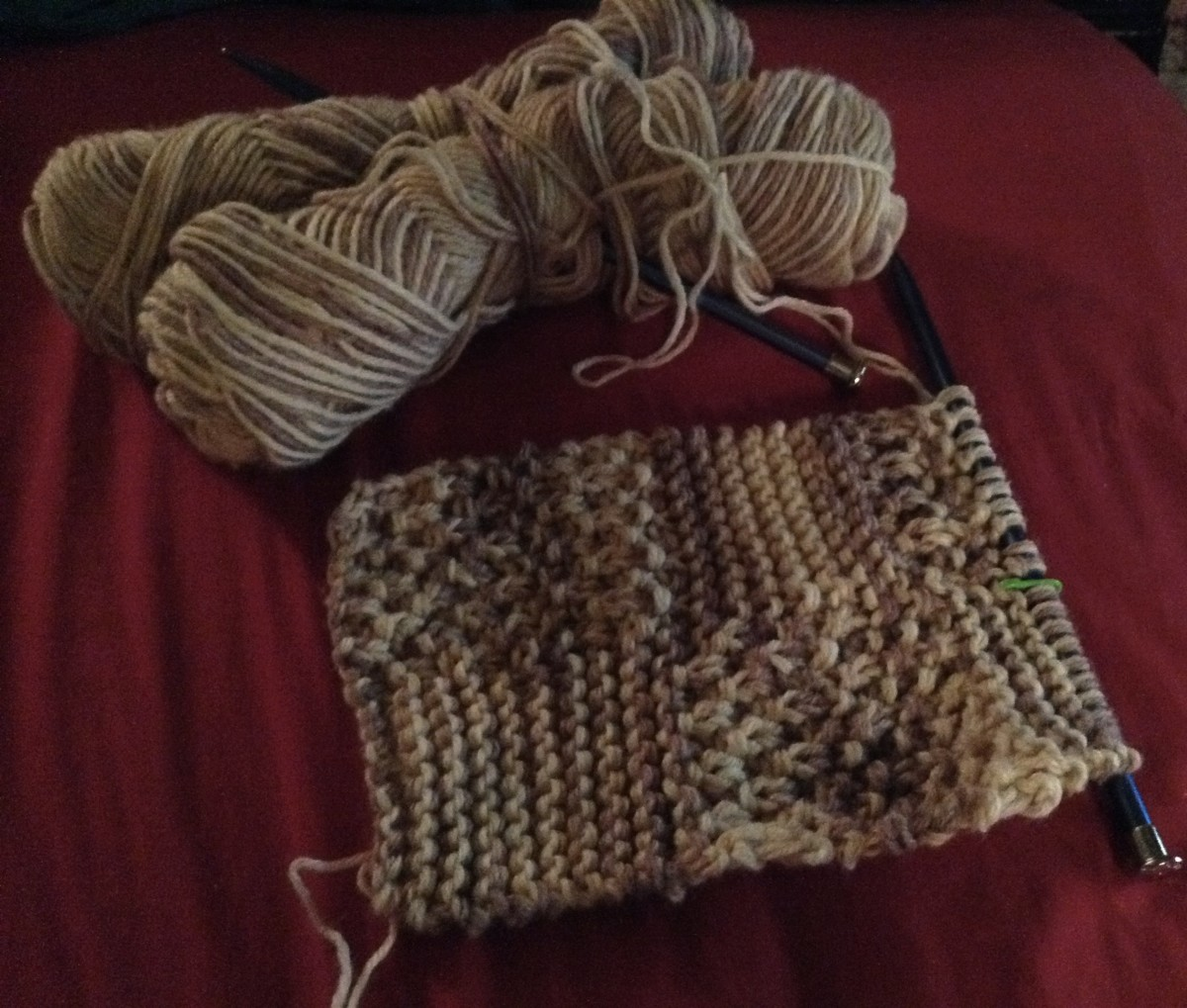 If you can knit items that are more complicated than just a square or rectangle, you are probably no longer a beginner.