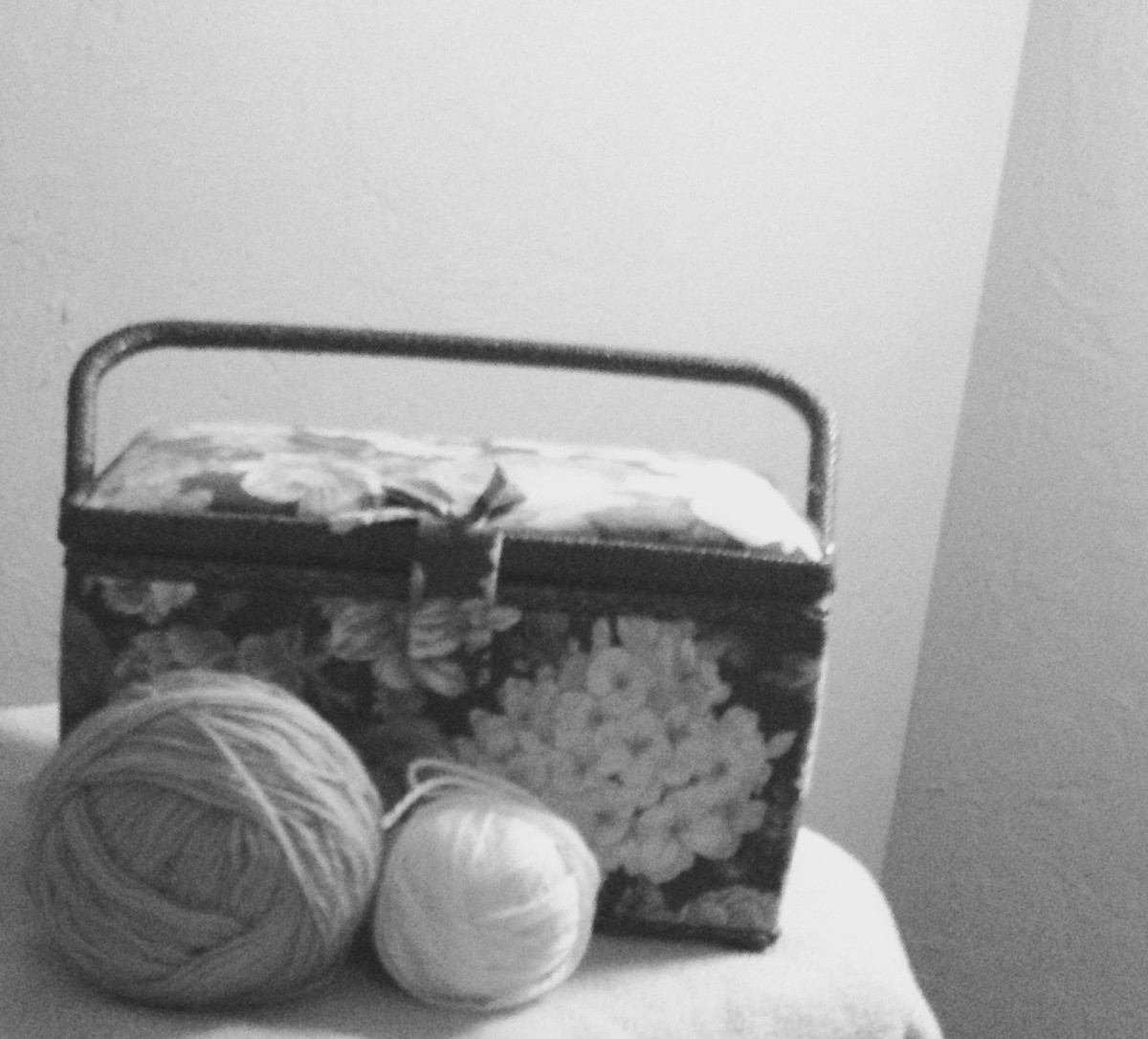 Store your yarn where it best suits you. Where can you find it the easiest?