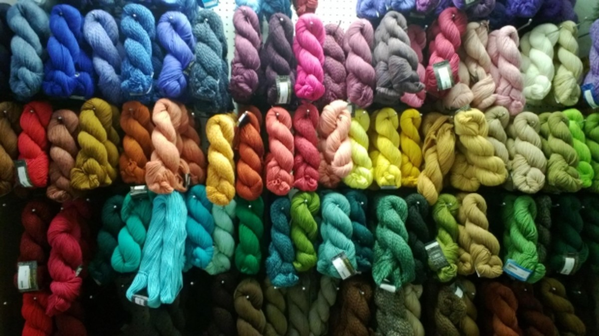 Where can you buy the yarn you need?