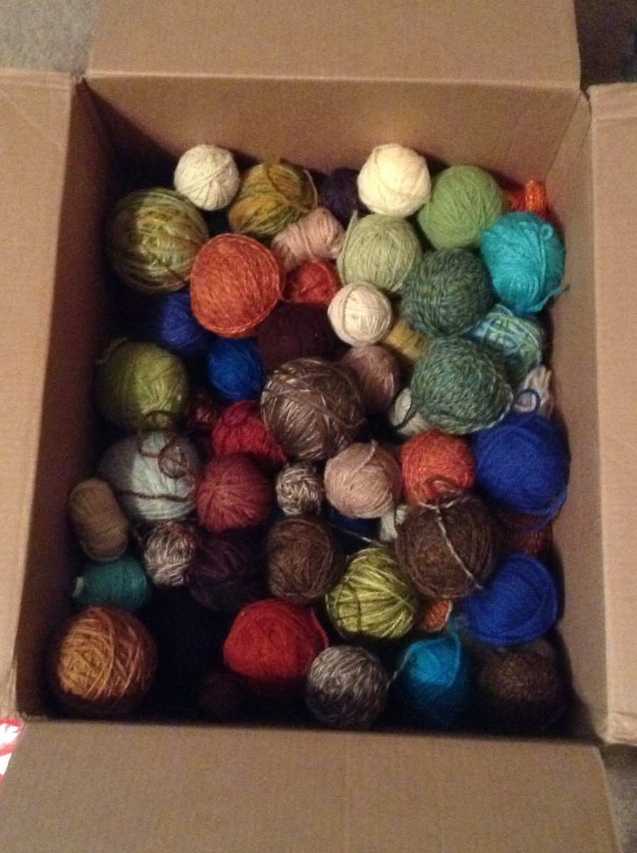 Depending on how quickly you become an advanced knitter, you will need a yarn stash specific to your needs.