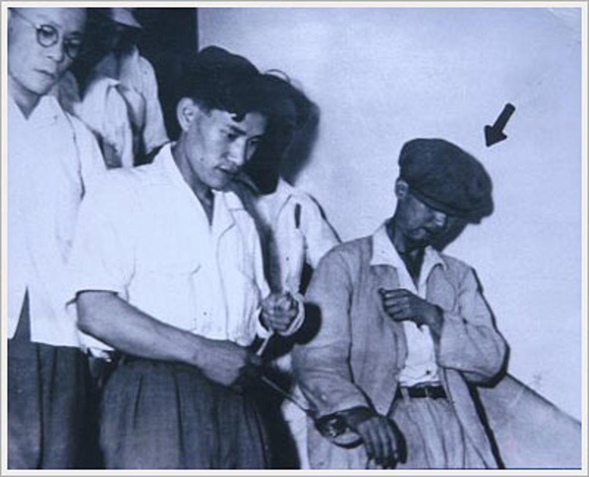 Sadamichi Hirasawa's arrest