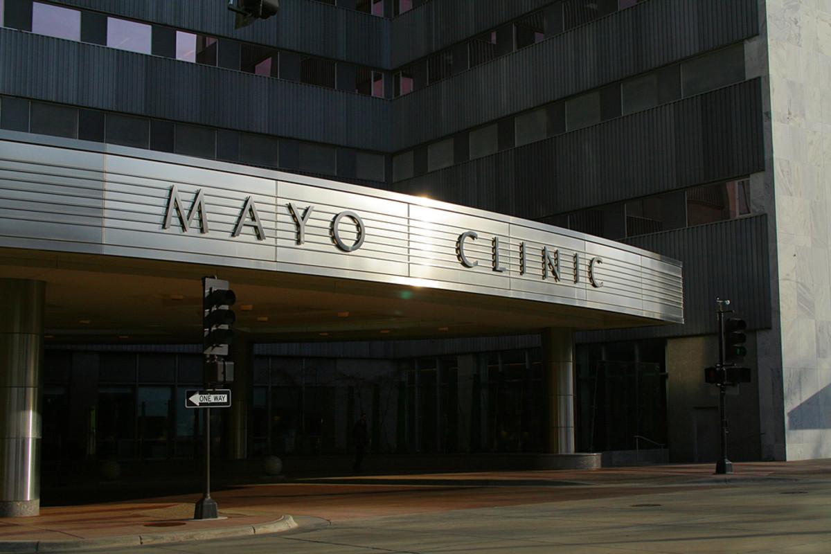 Mayo Clinic entrance