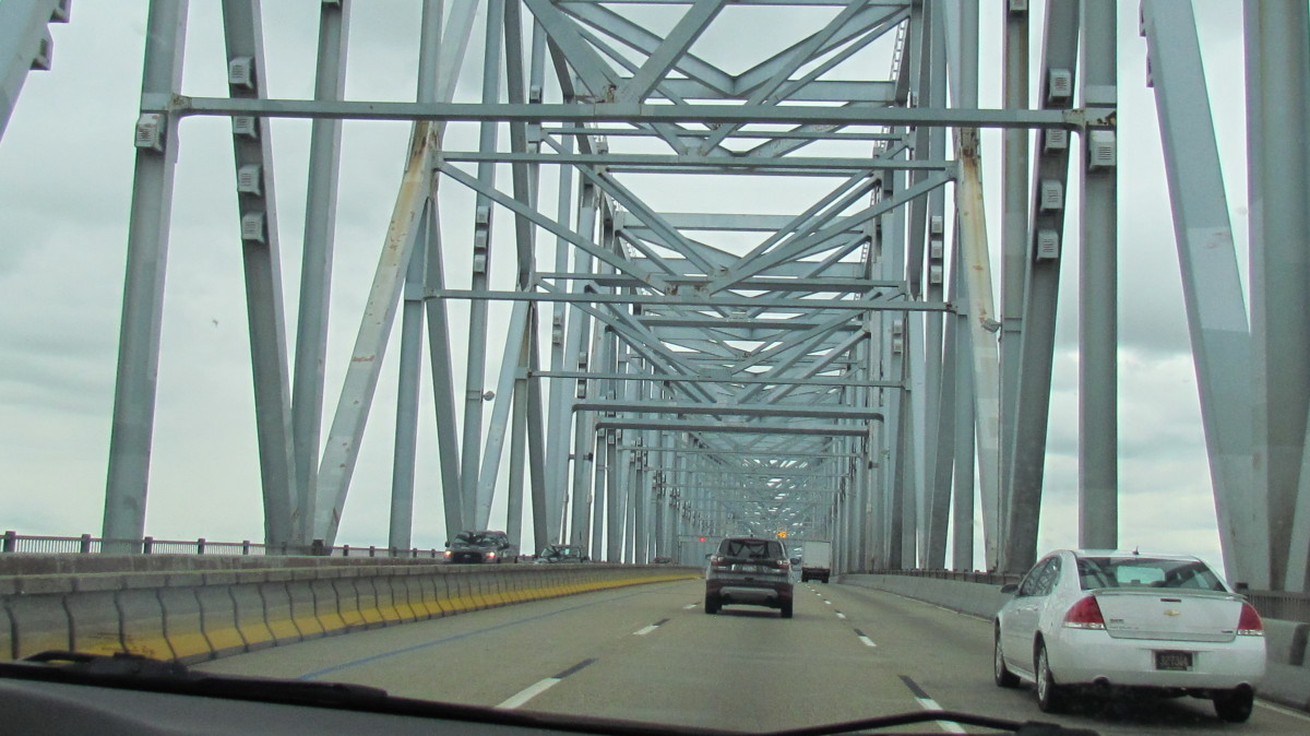 One of the bridges we crossed on our way to tour Jehovah's Witness Headquarters in Tuxedo Park, Warwick, New York