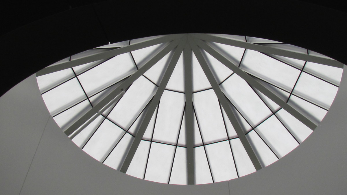 A skylight within the Bethel facility of Jehovah's Witnesses.
