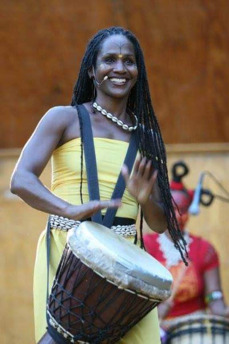 Sis. Omelika at Michigan Womyn's Music Festival with Jambalaya
