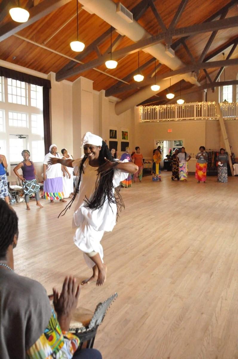 Dancing for An Ancestor.