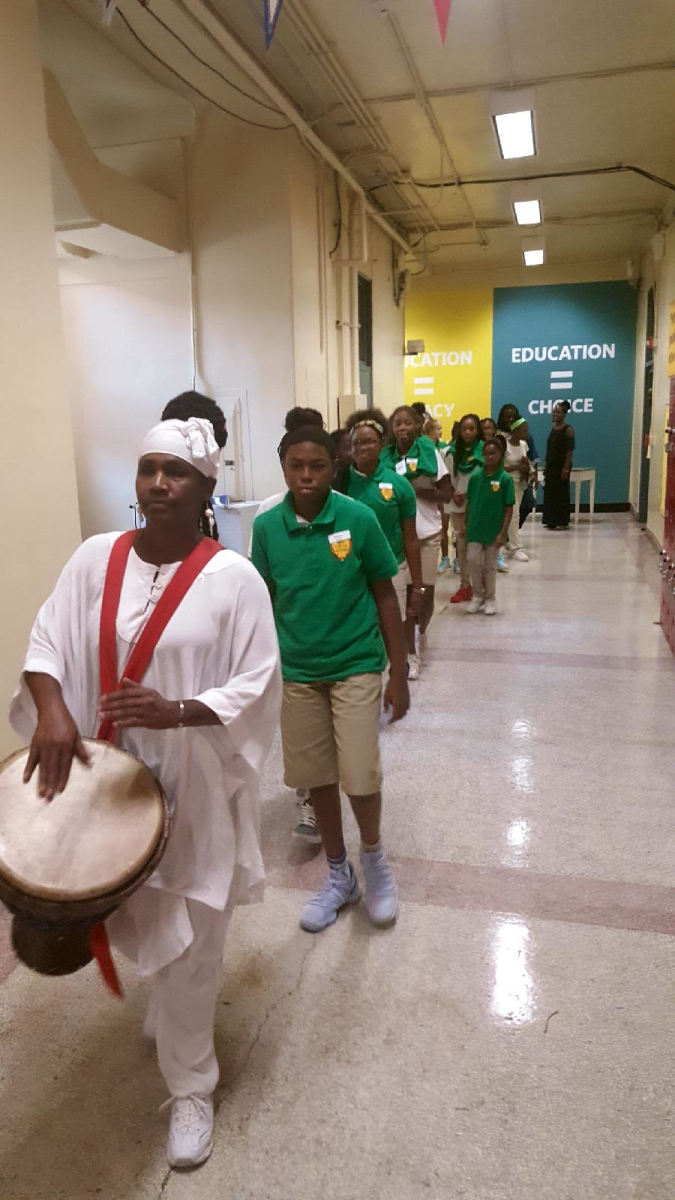Rite of Passage Recessional at a KIPP School in Atlanta, GA.