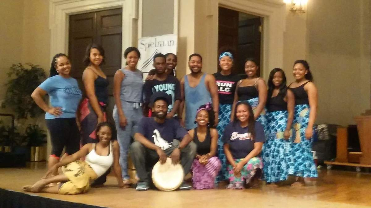 10th Anniversary of Ashietu, the Sisters Chapel African Dance and Drum Ministry of Spelman College.