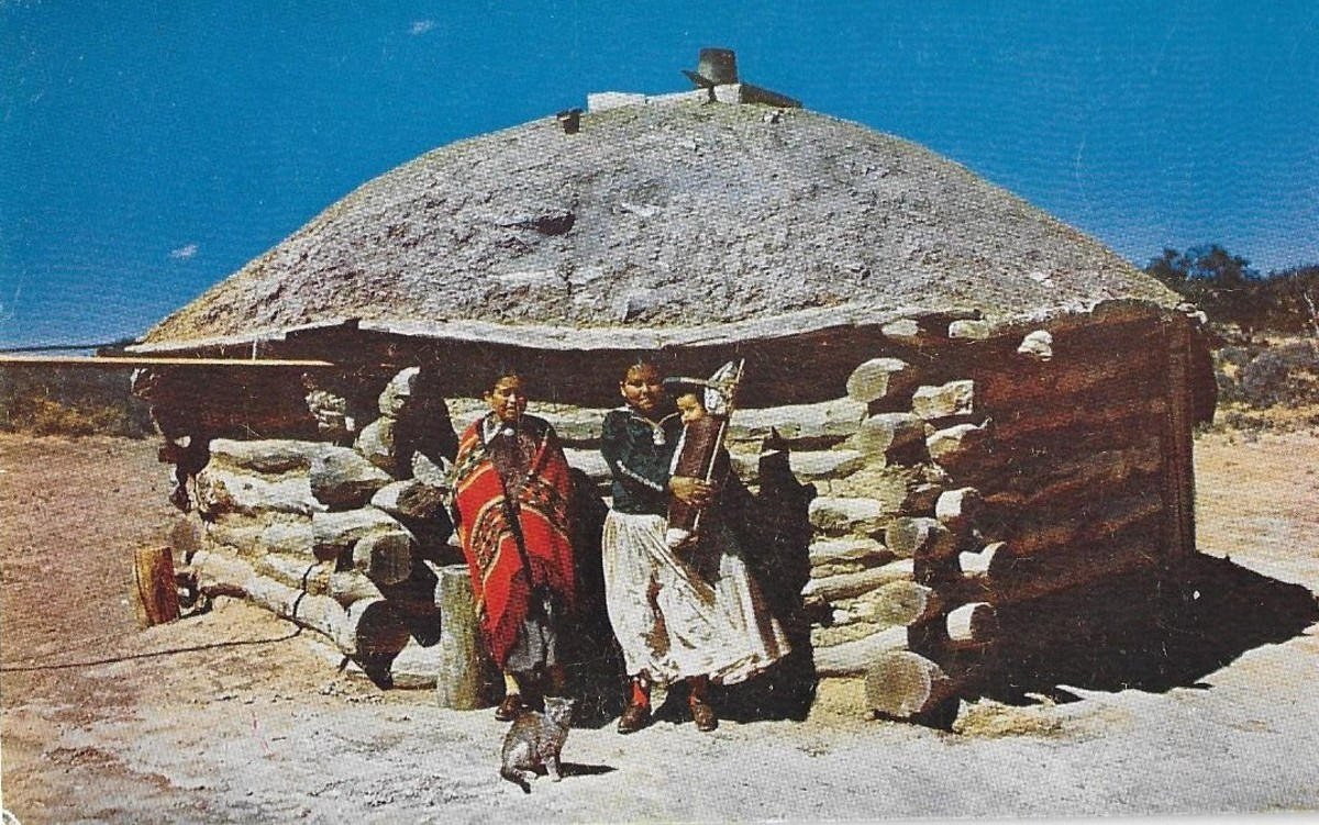 The Navajo Hogan: A House of Earth and Sky