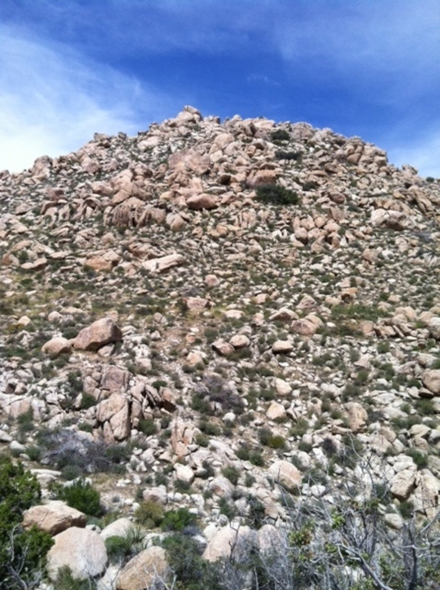 If you do not like climbing around boulders stay unnoticed please.