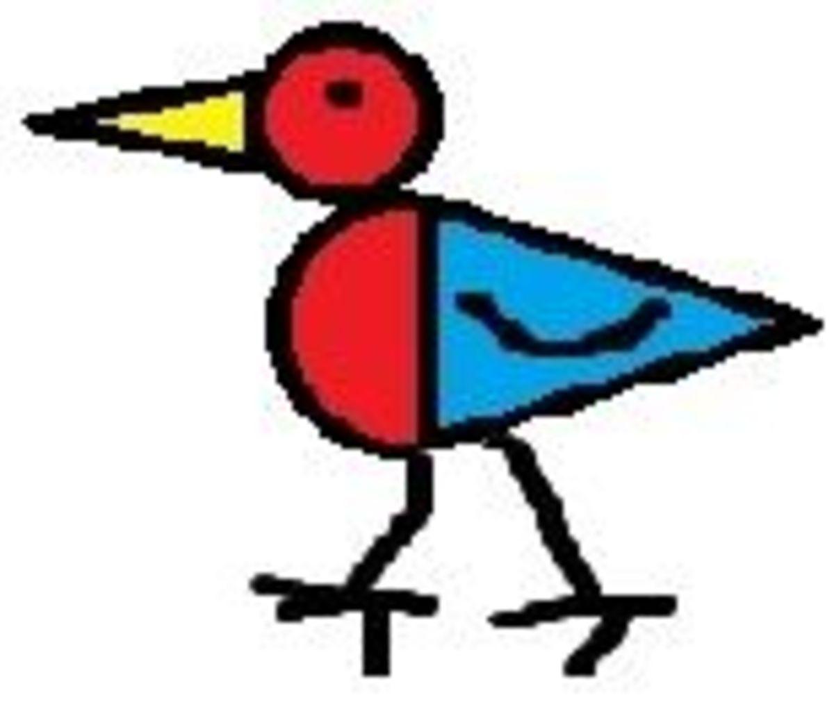 Drawing Bluebirds