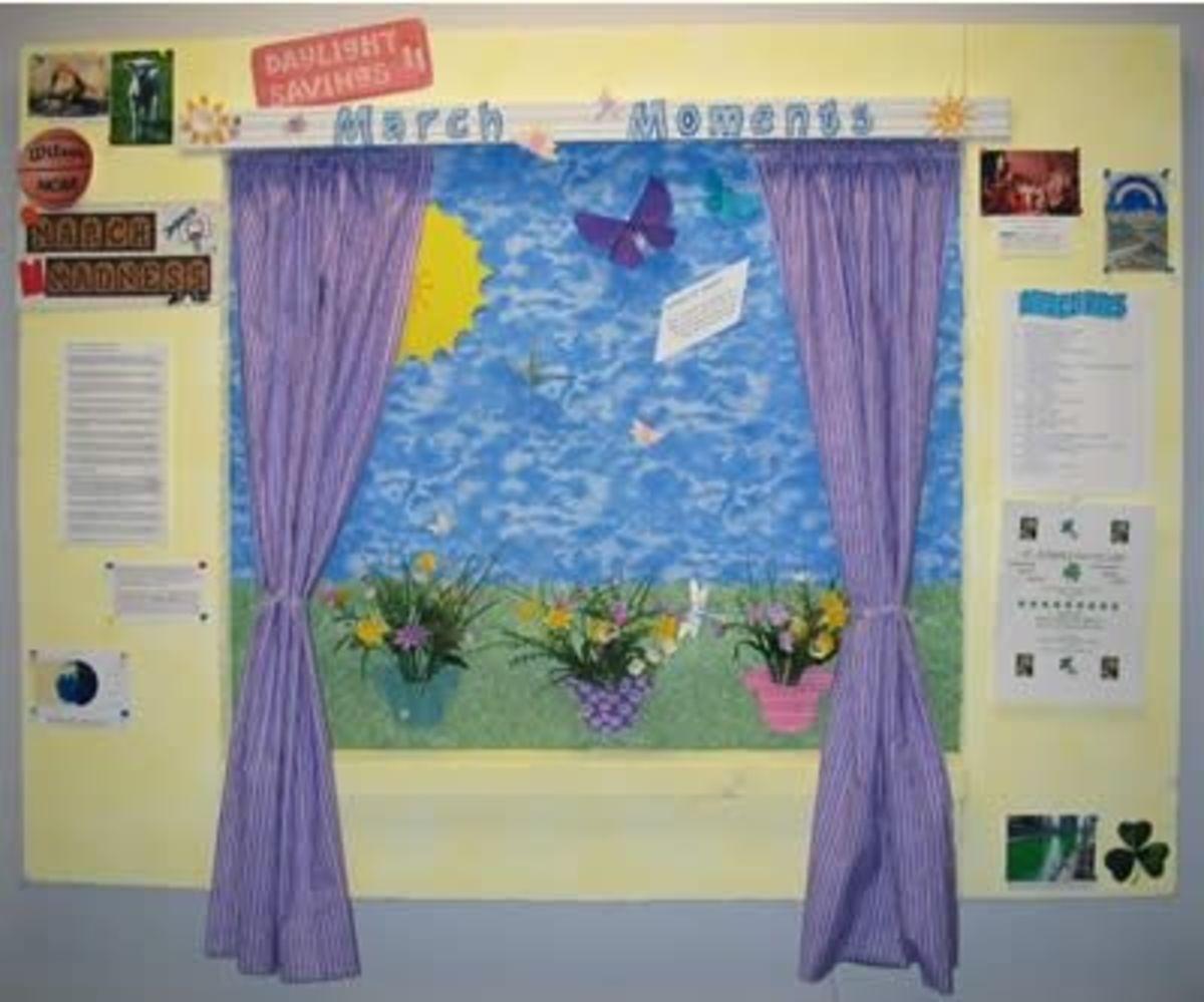 Summertime Meadow Bulletin Board