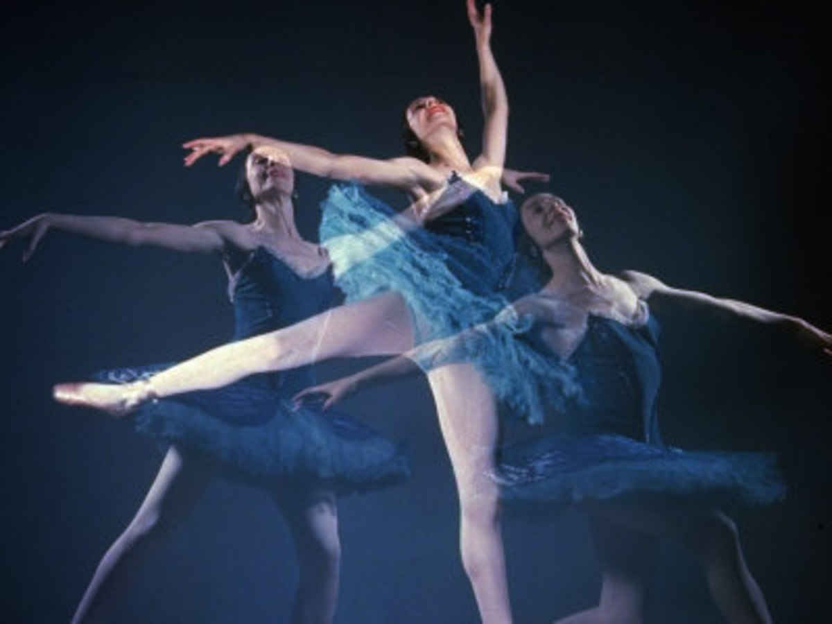 Alicia Markova as Bluebird in Sleeping Beauty