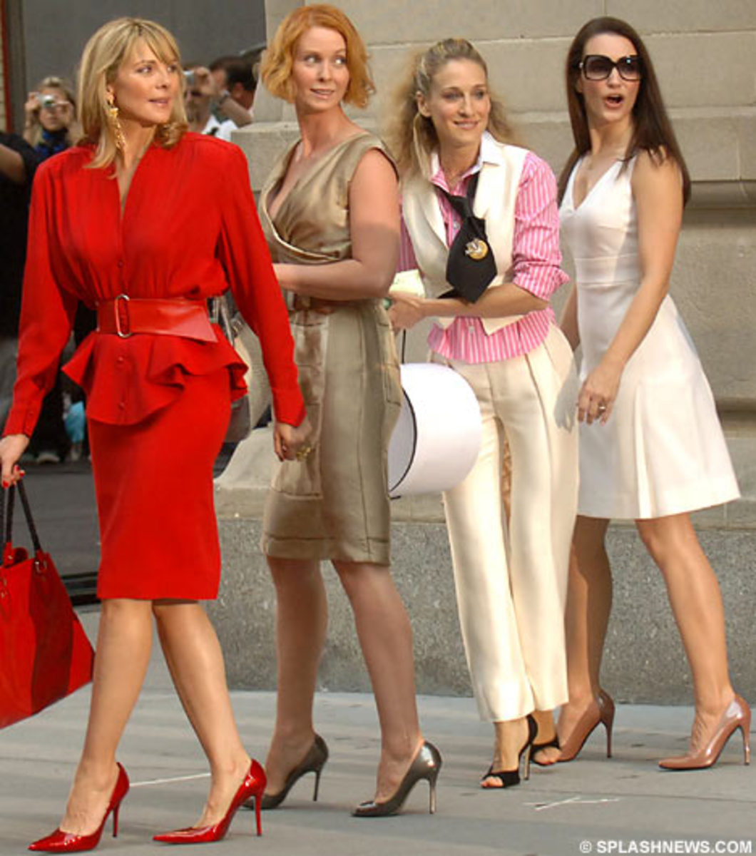 The girls on Sex in the City wear the most stylish shoes!