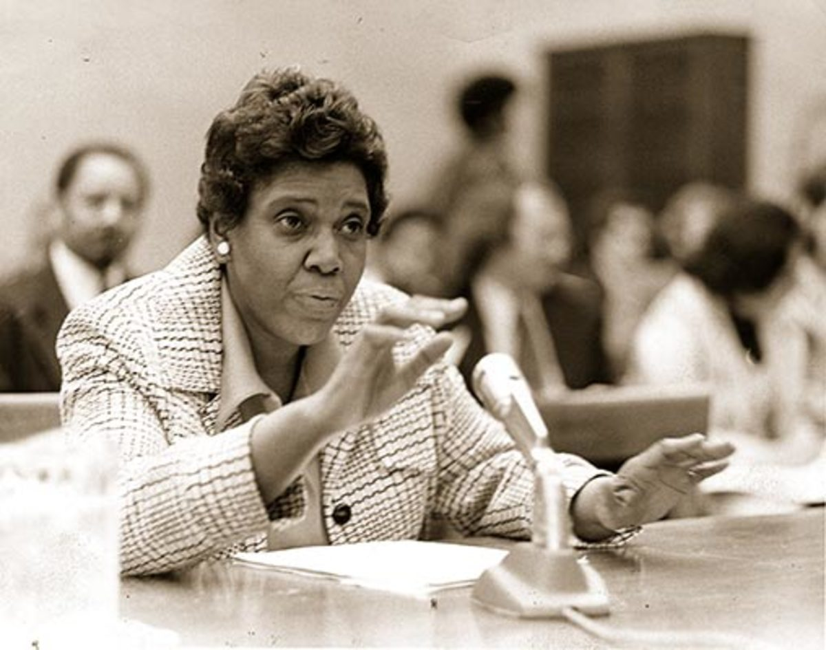 Judiciary Committee member Barbara Jordan of Texas was just a beginner when the House started the Nixon impeachment proceedings.