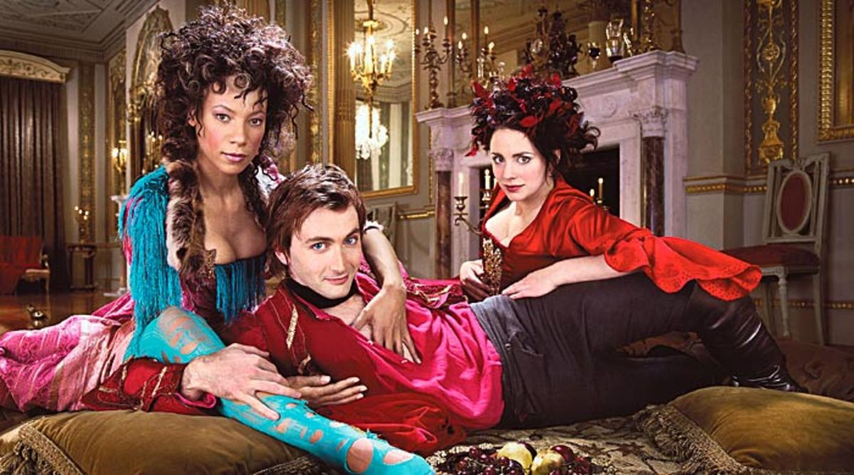 David Tennant plays Casanova in a Recent BBC Production
