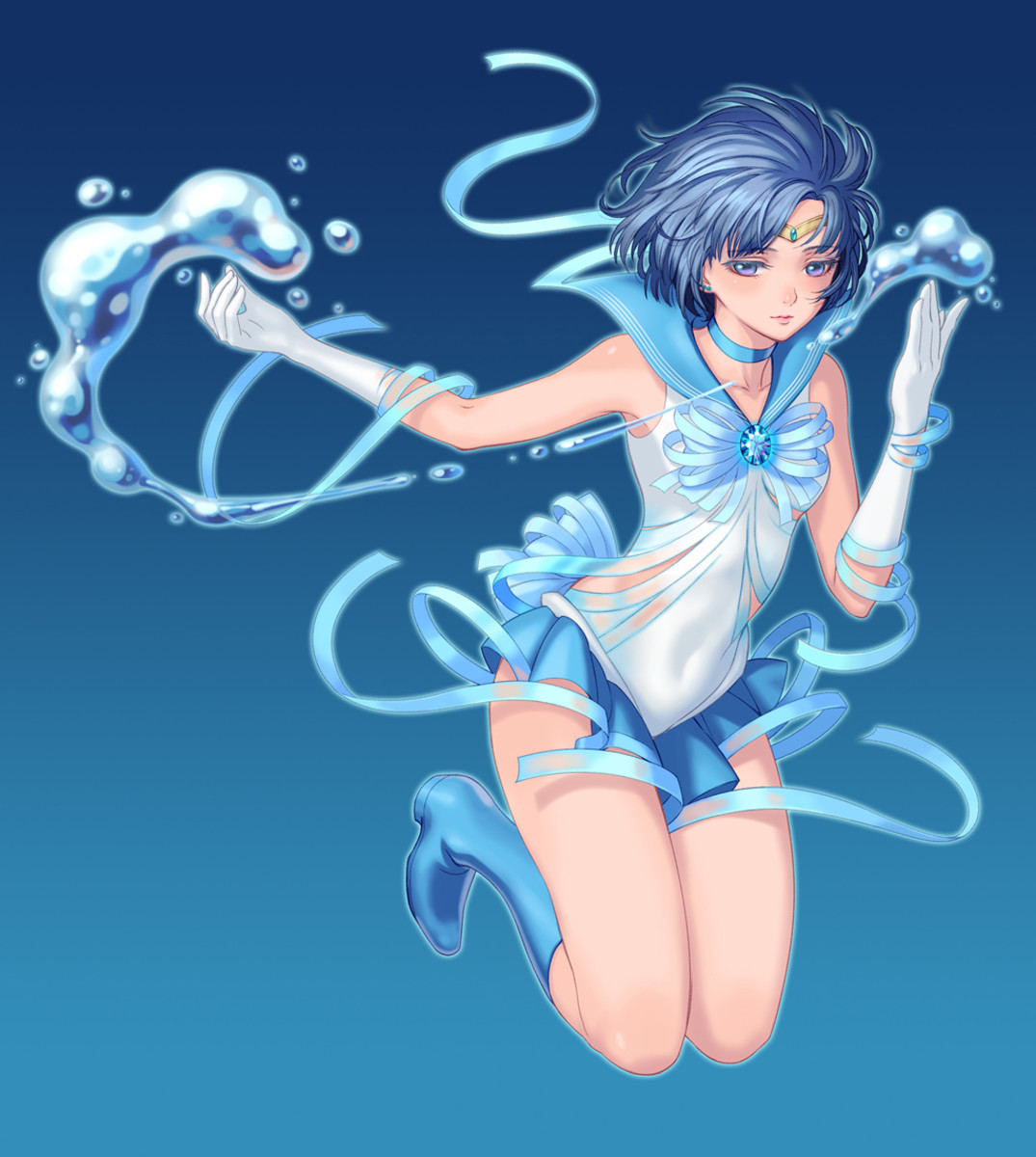 Ami Mizuno from Bishoujo Senshi Sailor Moon
