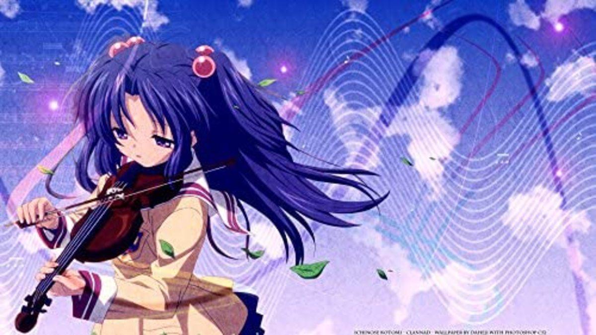 Kotomi Ichinose from Clannad