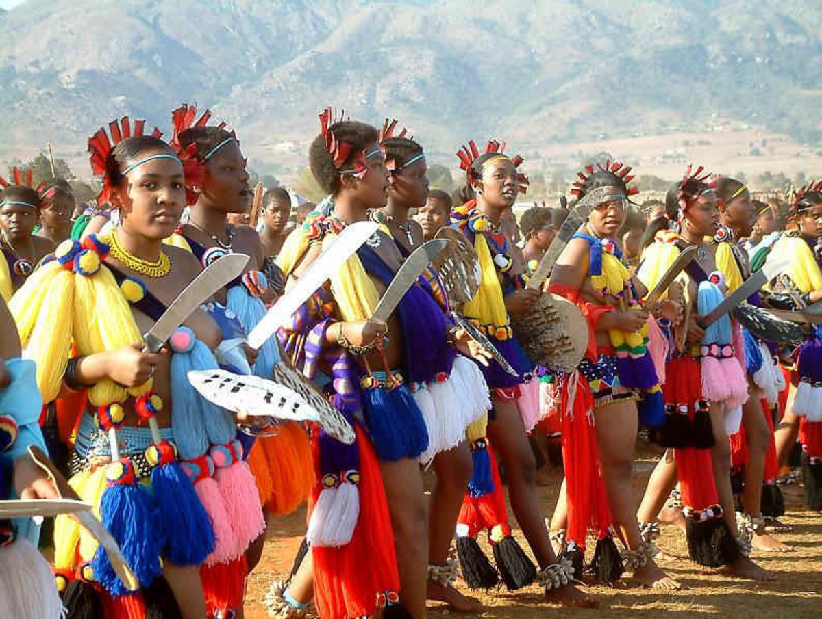 Young Maidens(The Reed dance Festival)