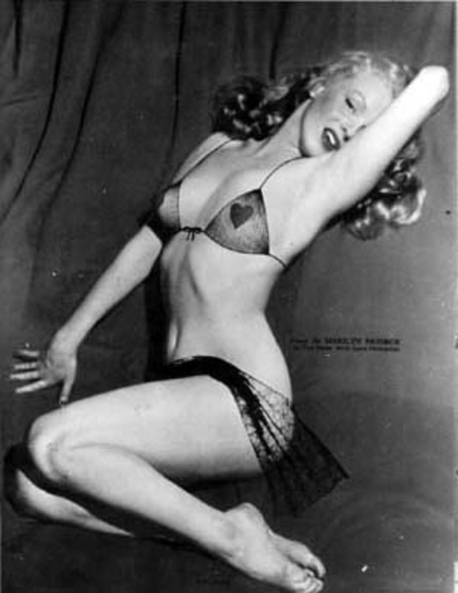 Mailyn Monroe - Famous Hollywood Pin Up Girl