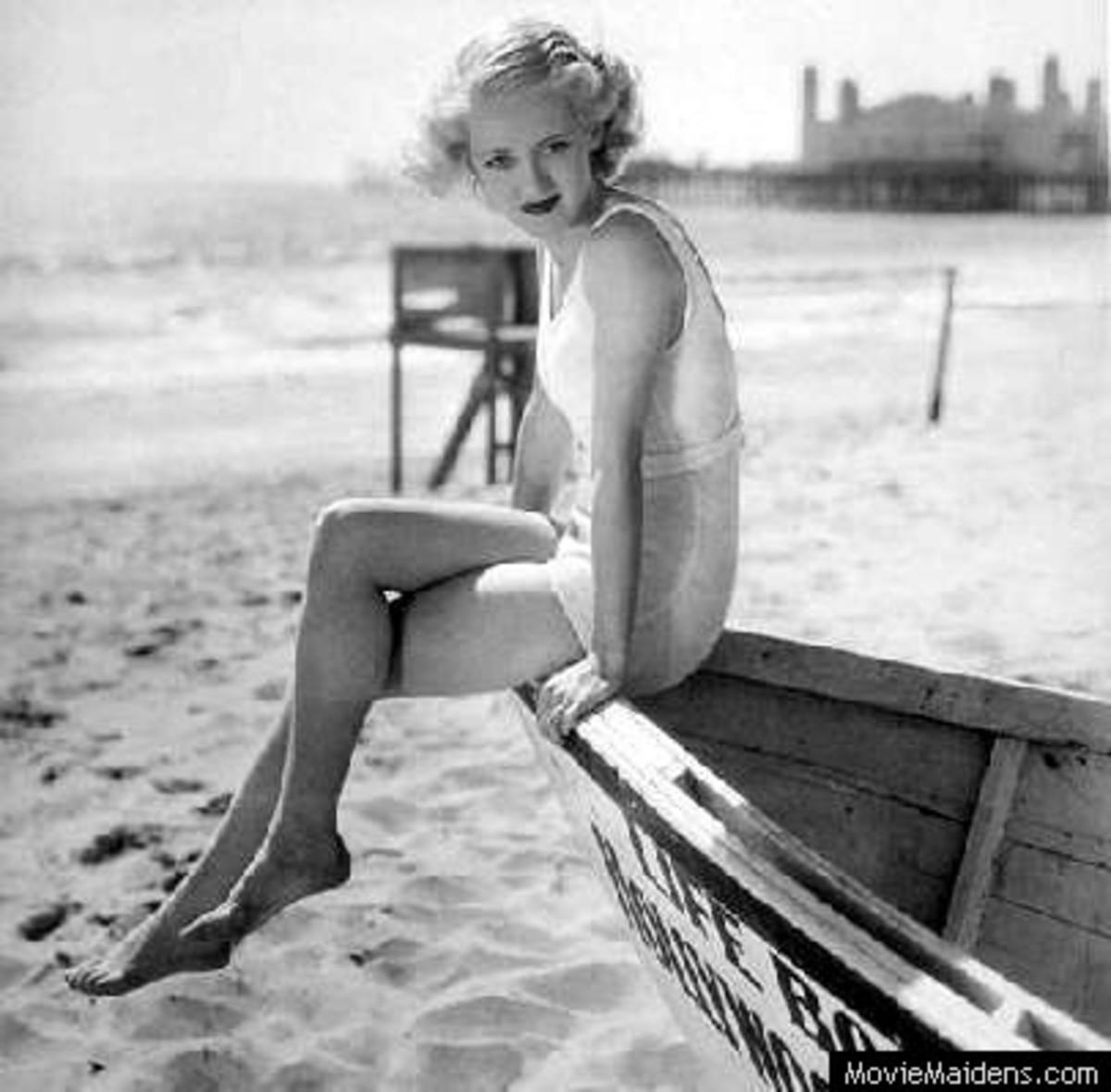 Pin up girl - Betty Davis