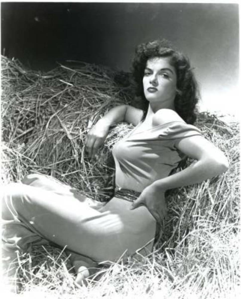 Hollywood Pin Up Girl - Jane Russell
