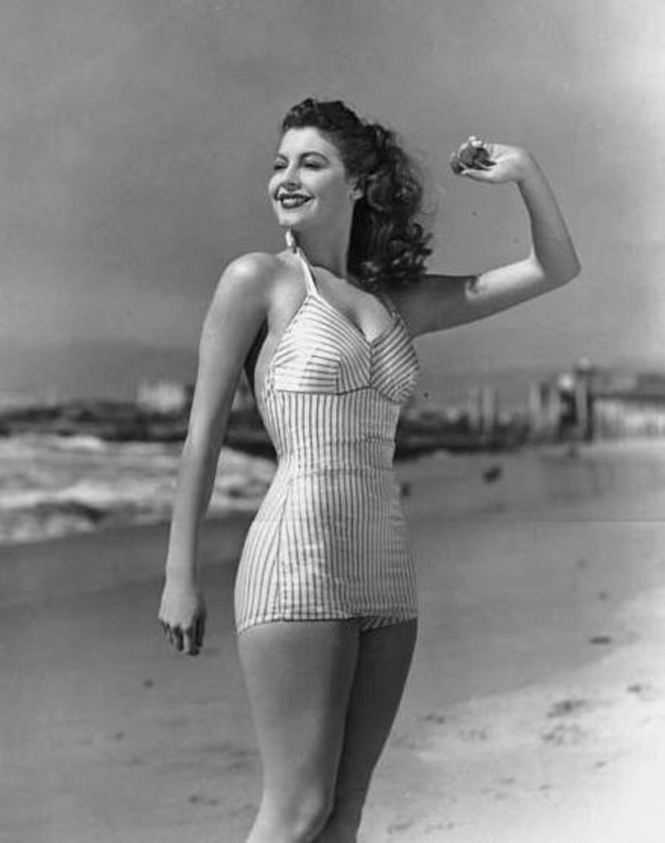 Hollywood pin up girl - Ava Gardner