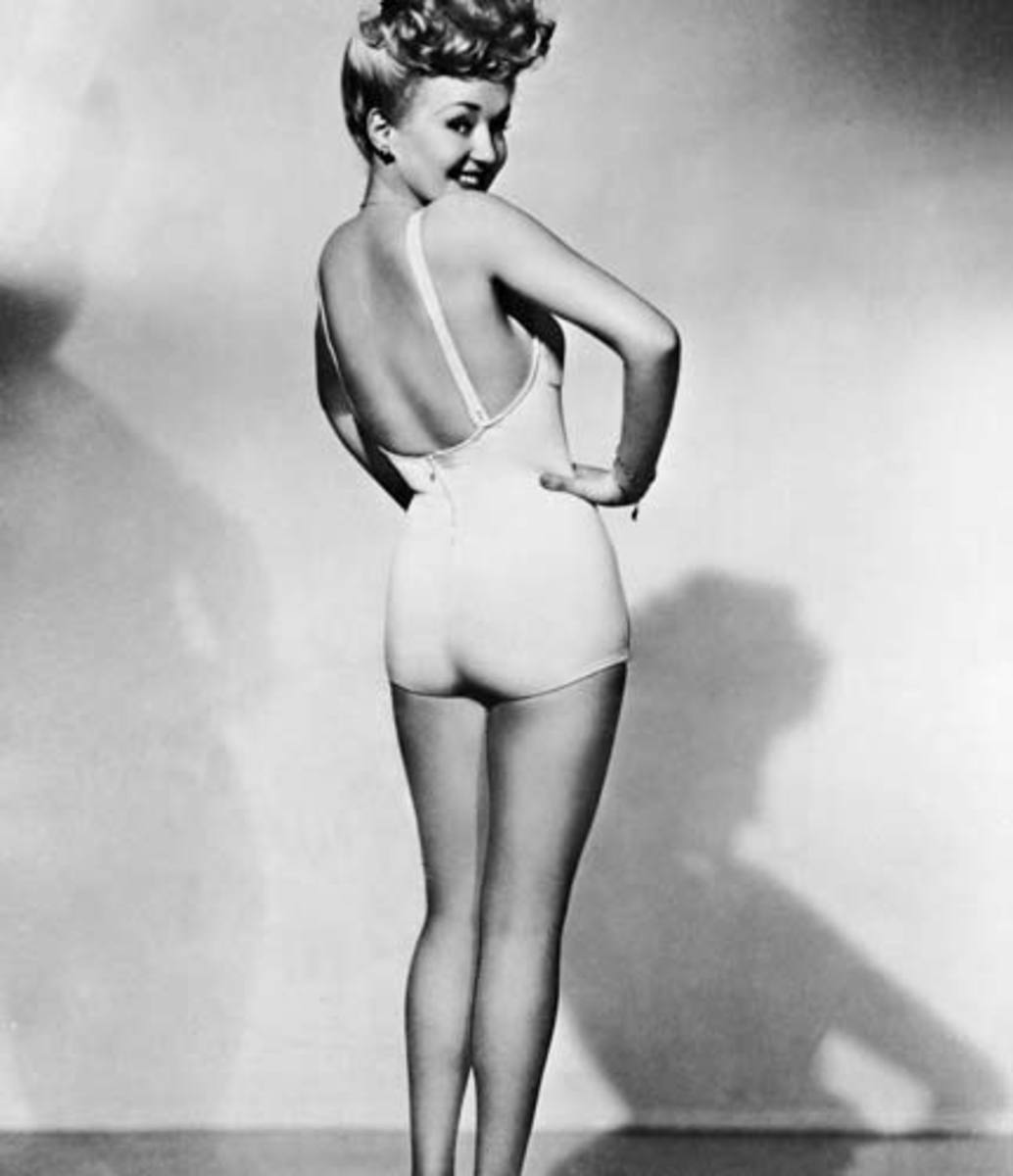 Famous Hollywood Pin Up Girls of The 1940's and 1950's