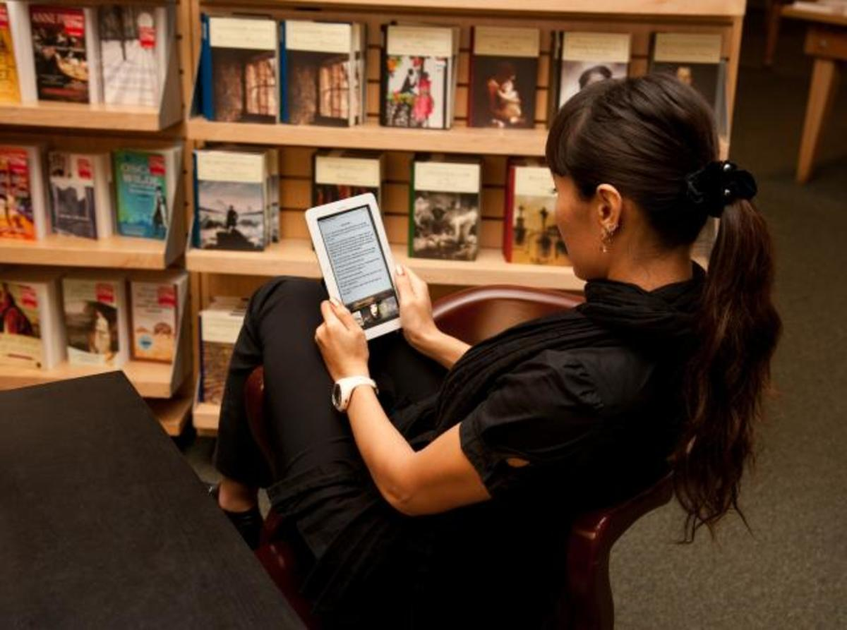 The library now has Nook and Nook Simple Touch ebook readers for you to borrow. These devices are being offered as part of a pilot project to determine their usefulness to SDSU students, staff, and faculty. Along with the readers the library has deve
