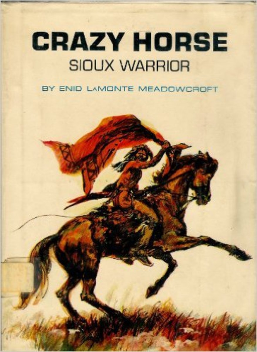 Crazy Horse: Sioux Warrior by E. L. Meadowcroft