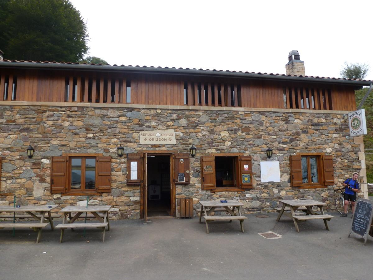 Crossing the Pyrenees,Orrison hostel.