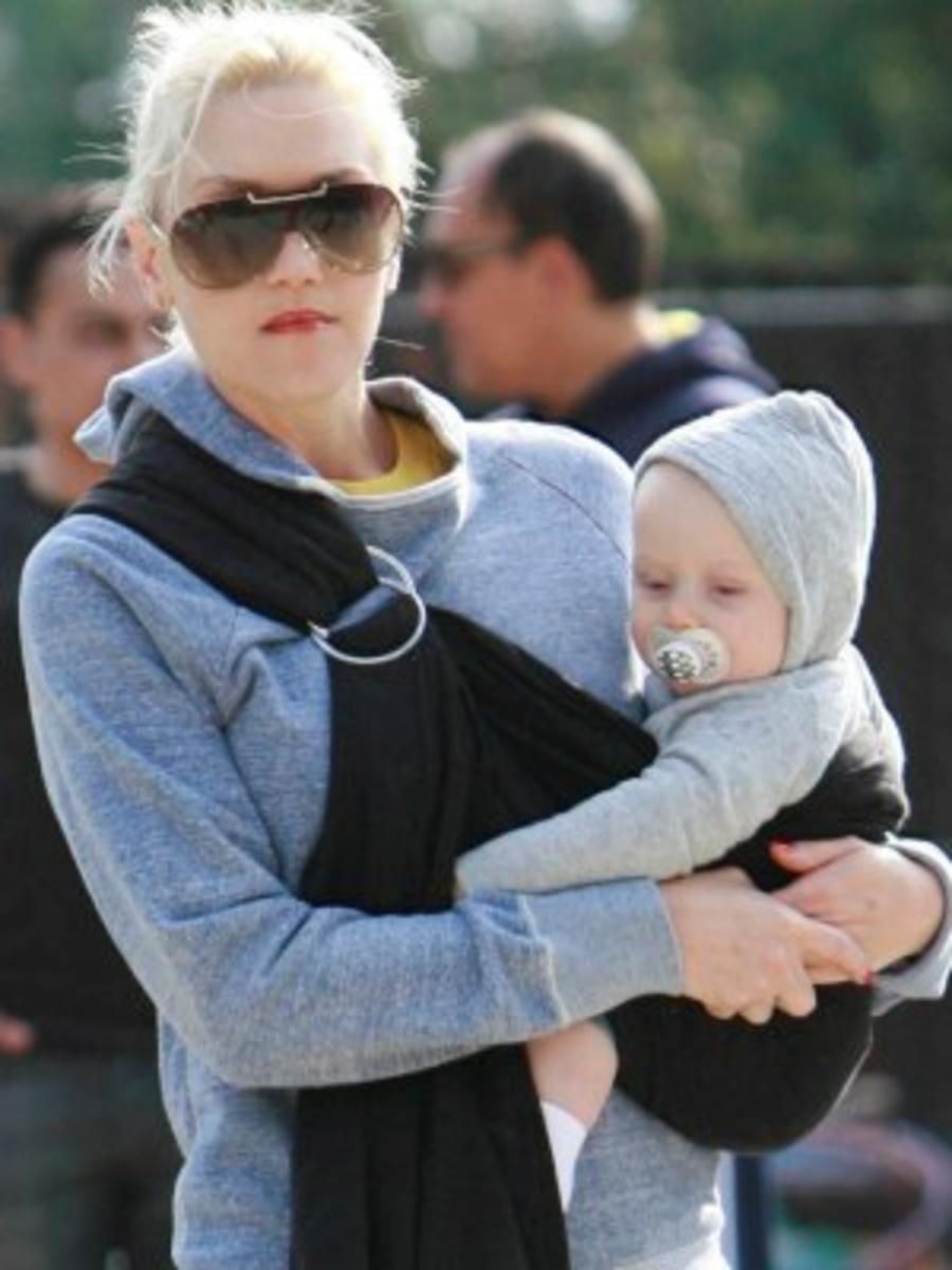 Gwen Stefani and Zuma Rossdale.