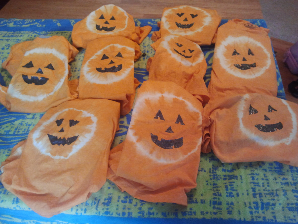 Class shirts for our field trip to the pumpkin patch!