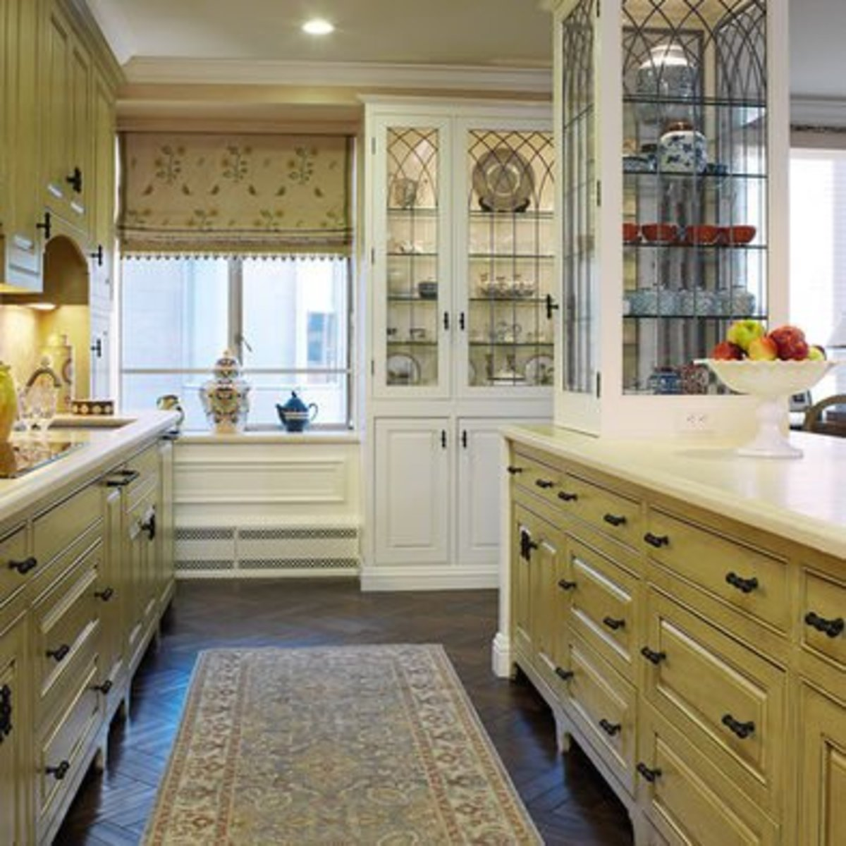 home-improvement-ideas-white-kitchen-cabinets-with-glass-doors