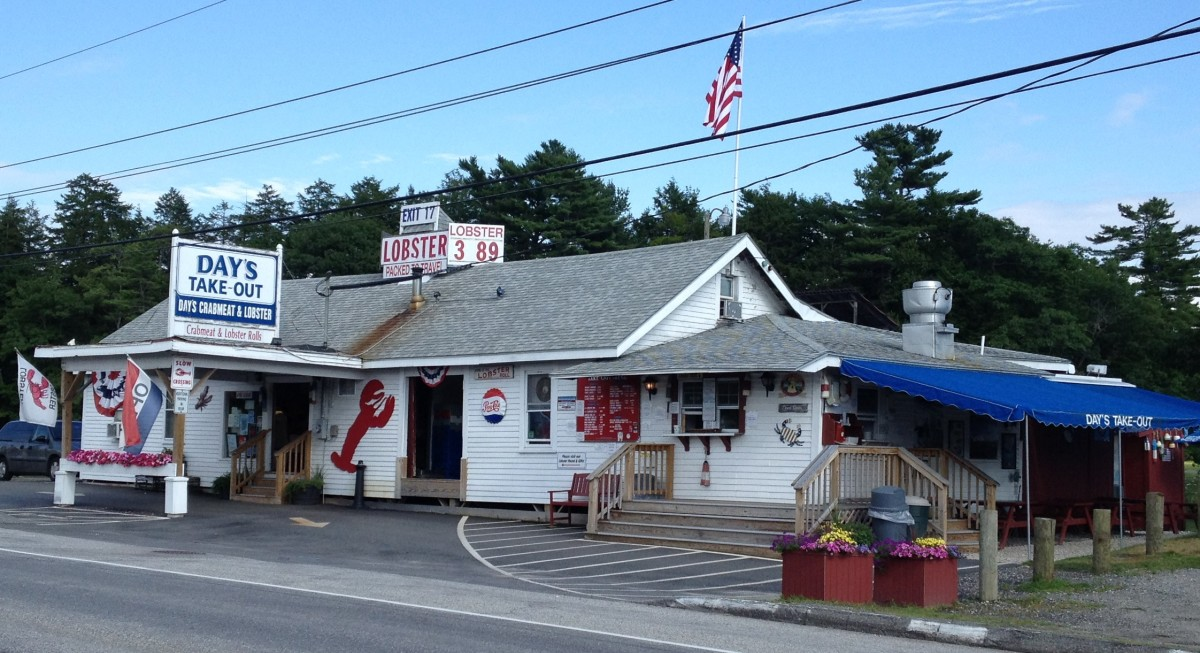 Day's Lobster Pound and Take-Out, Yarmouth, ME