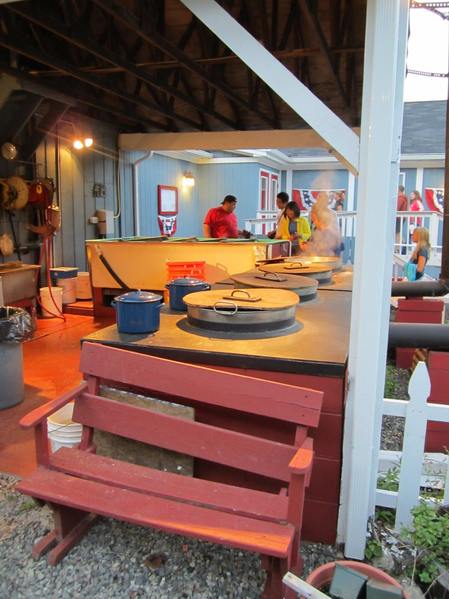 Union River lobster cookers