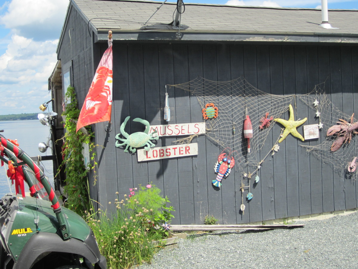 Perry's Lobster Shack, Newbury Neck, Suryy, ME