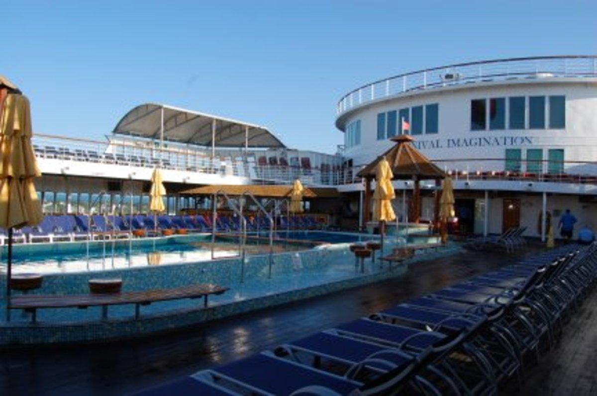 Poolside  on Carnival Imagination