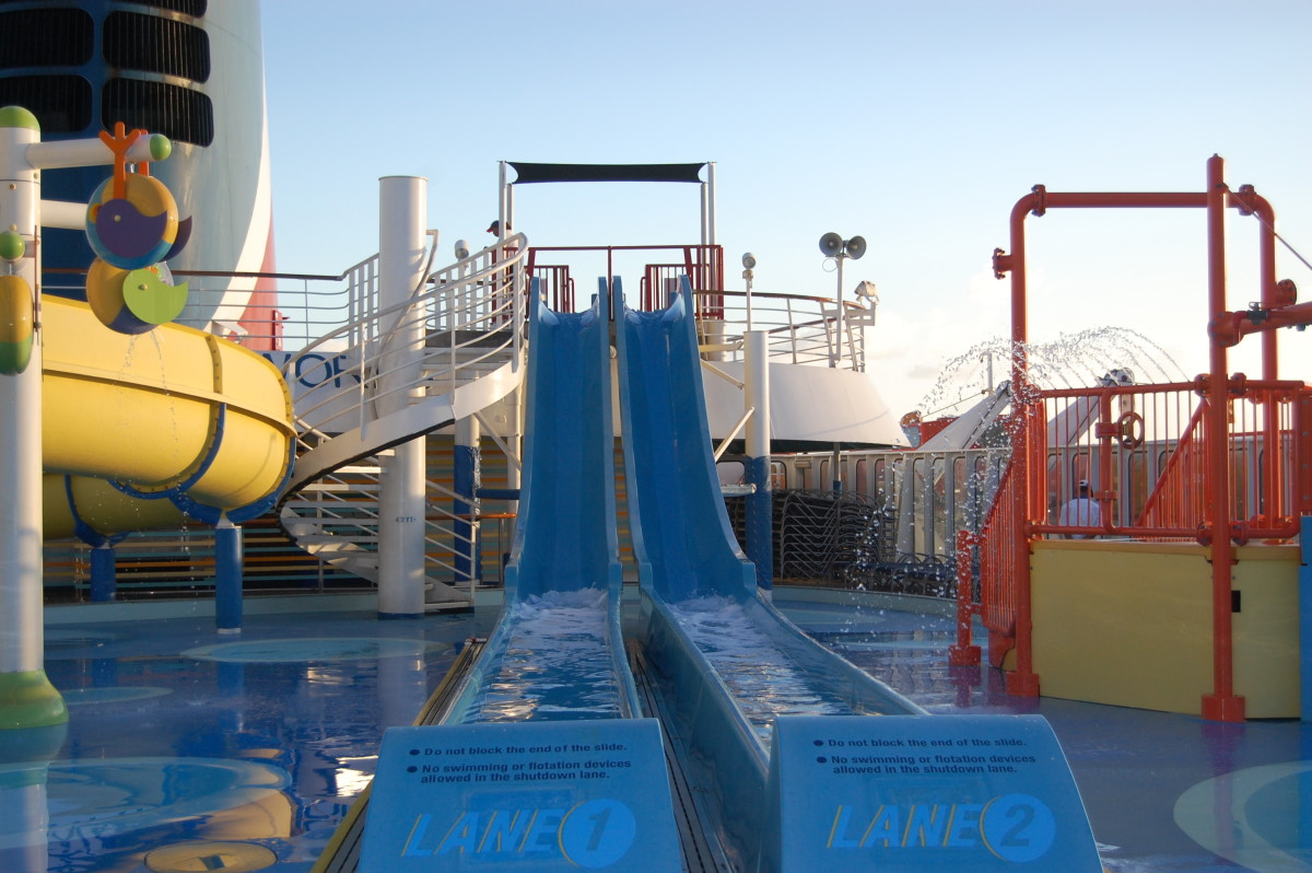 Water Works on Carnival Imagination