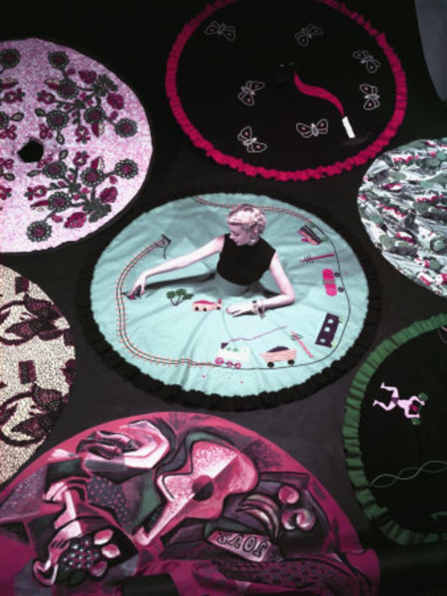 Beautiful Circle Conversation Skirts