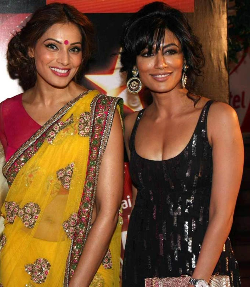 Chitrangada Singh with Bipasha Basu, Two dusky beauties