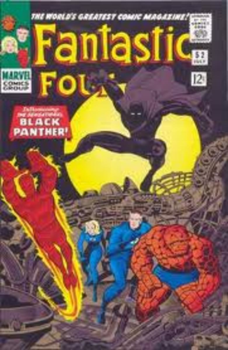 T'Challa the Black Panther makes his debut in FF # 52