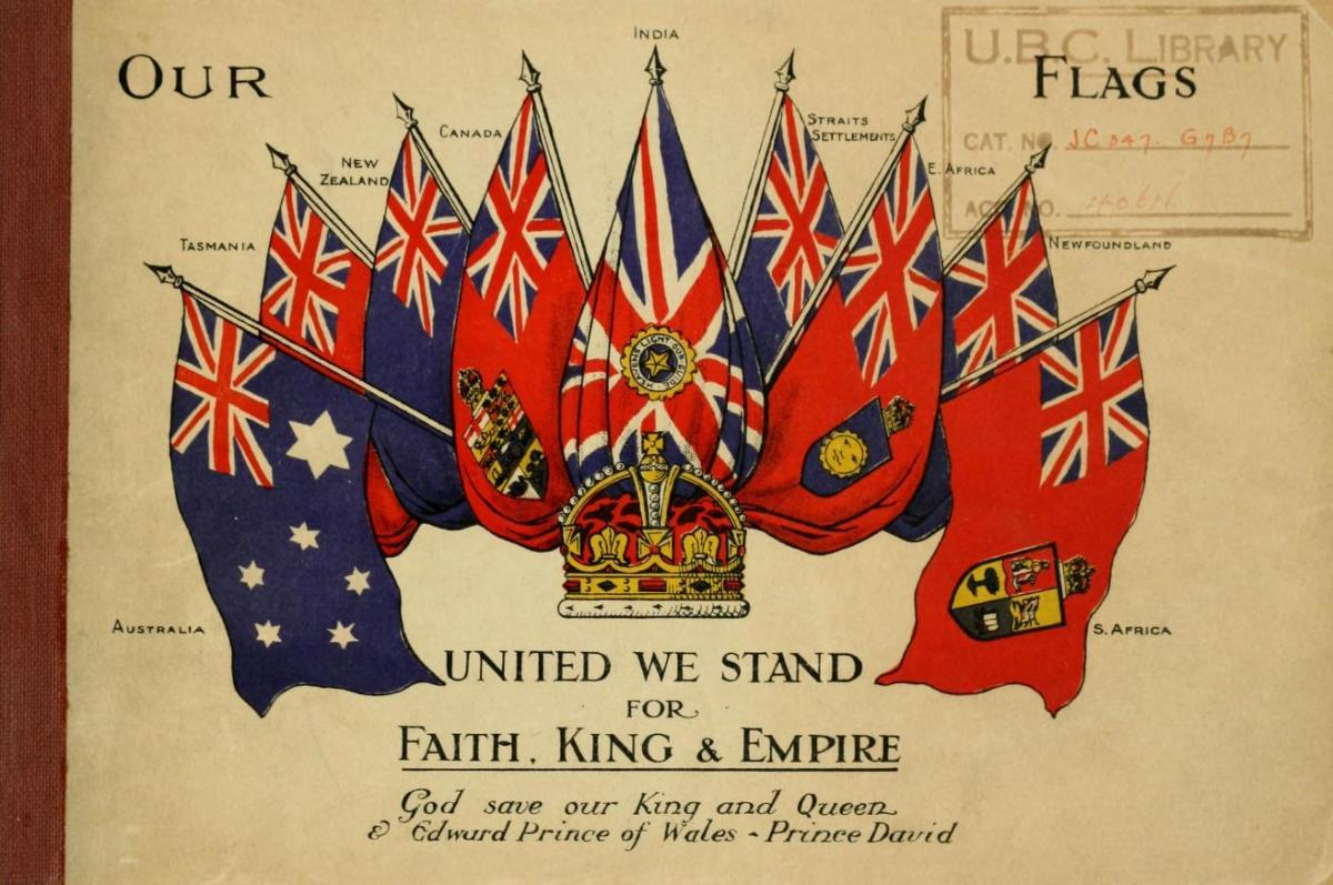 How have historians explained the fall of the British Empire?