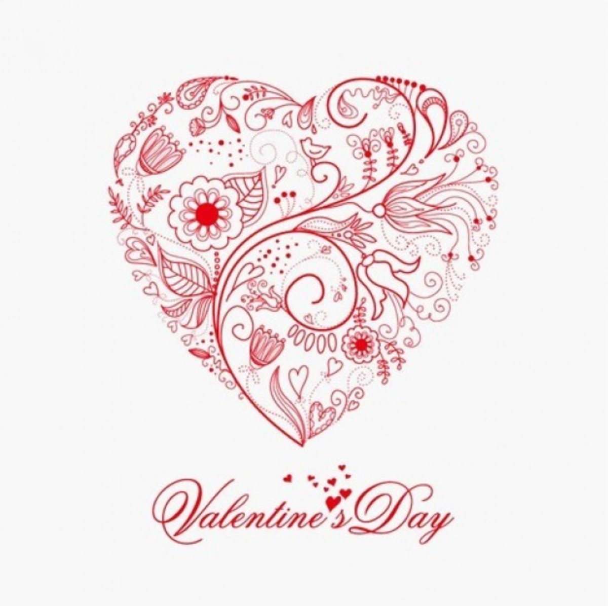 Paisley Valentine Heart